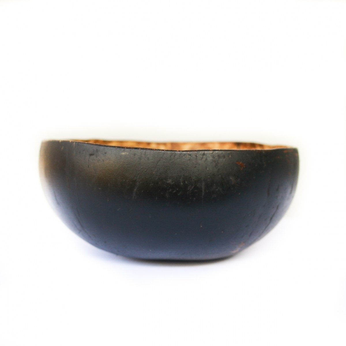 Black coconut bowl