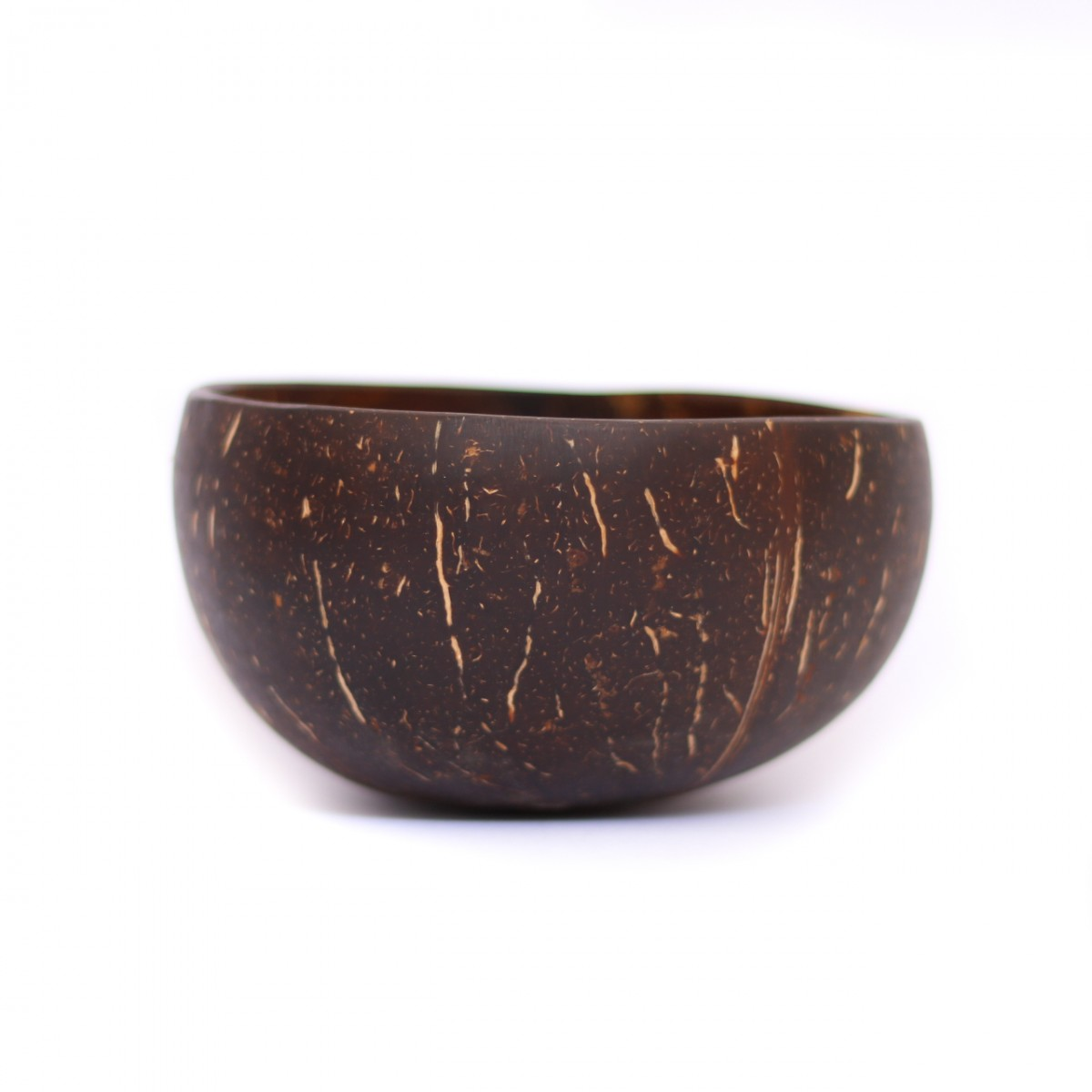 Polished coconut bowl