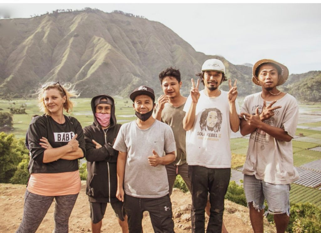 A trip from 1/3 of Coconesia family to Sembalun Lombok.